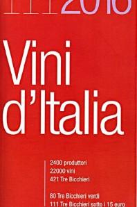 Vini d'Italia 2016 Gambero Rosso